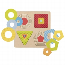 Goki - Layer puzzle geometrical shapes