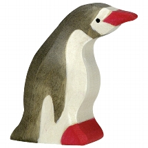 Holztiger - Penguin, small, head forward