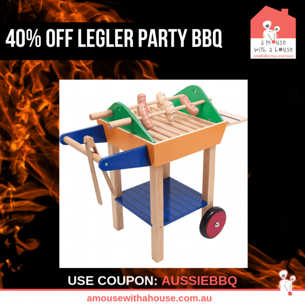 Sizzling Summer Savings - 40% OFF Legler Party Barbecue