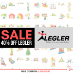 Prices Slashed - 40% OFF All Legler Brand Toy Sale