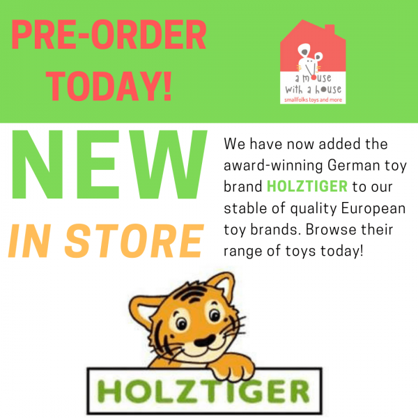 PRE-ORDER Your Holztiger Wooden Toys Today!