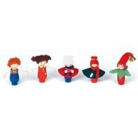 NIC - Birthday Ring/Train Figurine Set of 5 SPECIAL ORDER