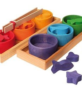 Grimms - Sorting Game Rainbow Bowls
