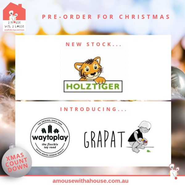 Christmas Pre-Orders, New Brands Grapat & Waytoplay, Popular Brands